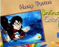 Harry Potter online coloring page